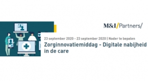 Zorginnovatiemiddag: digitale nabijheid in de care